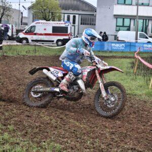 Mirco Brezzi in azione